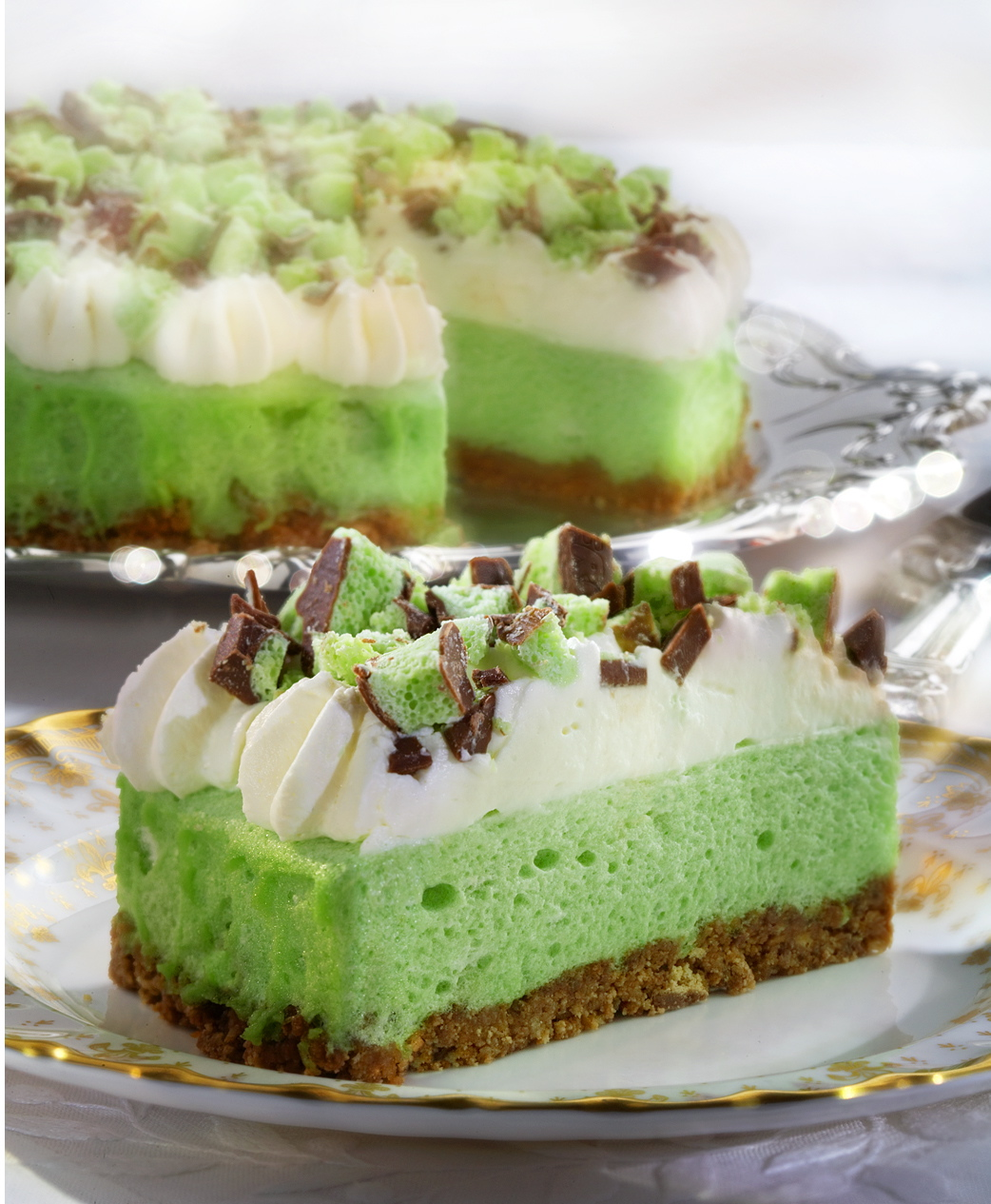 Aero Chocolate Mint Cheesecake Recipe