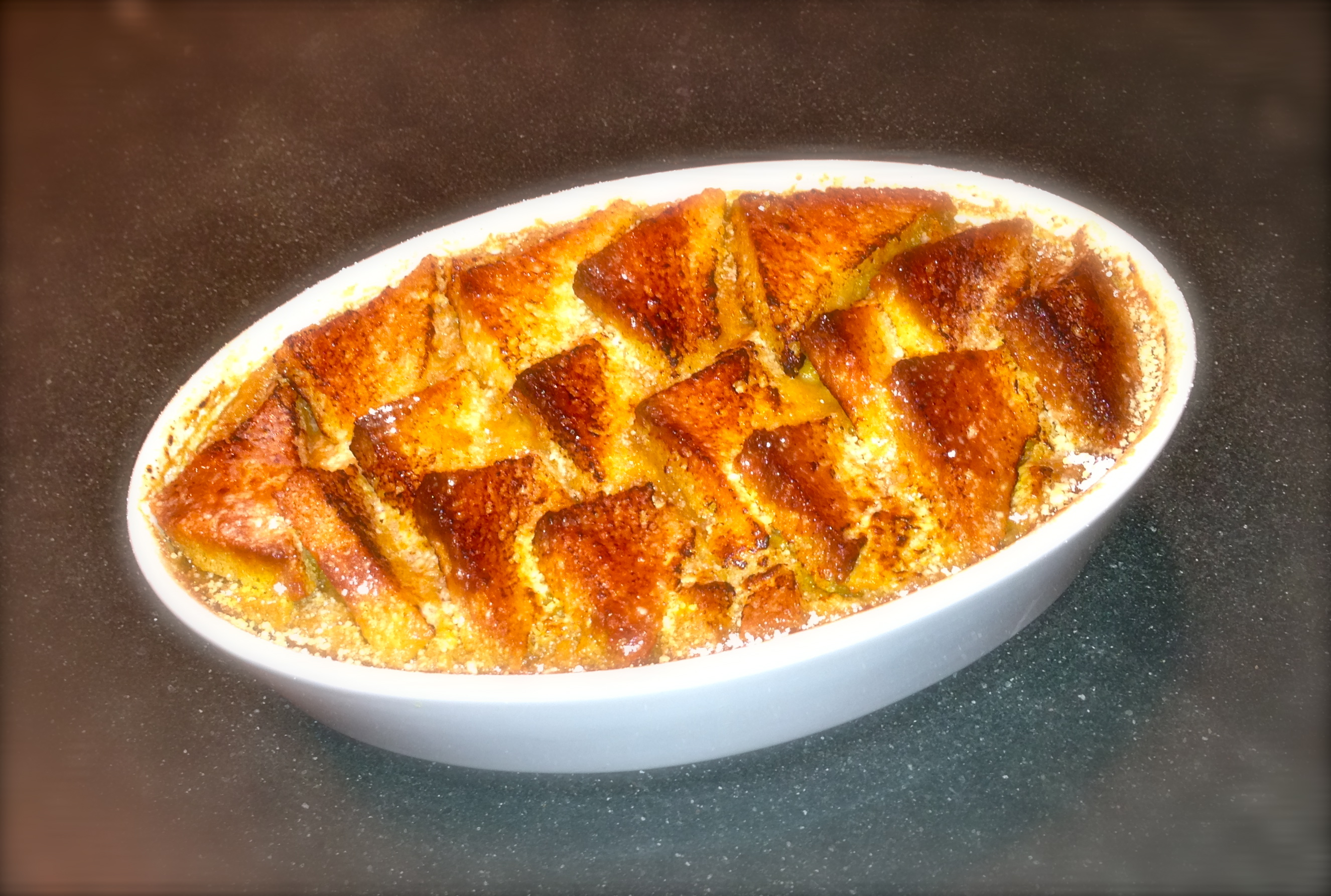 Gary Rhodes' Bread And Butter Pudding Recipe — Dishmaps